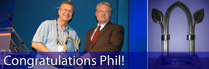 Congratulations Phil!